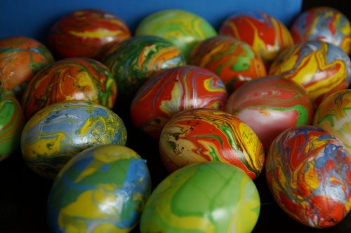 marbled easter eggs marbled easter eggs