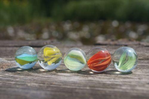 marbles glaskugeln colorful