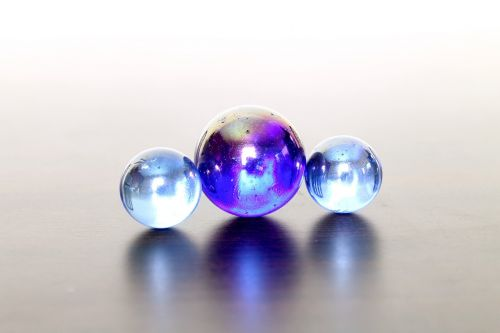 marbles balls garnish