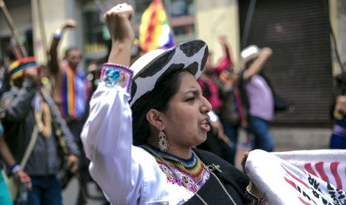 march indigenous women