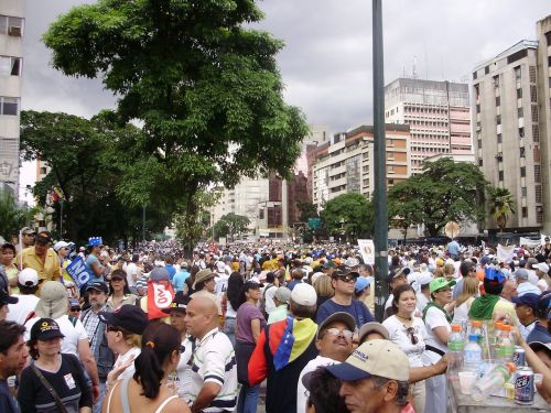 marches protests venezuela