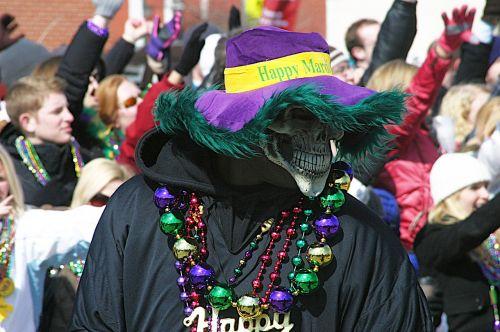 mardi gras parade event