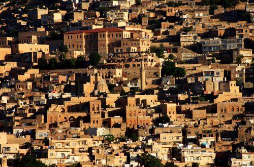 mardin historical city turkey