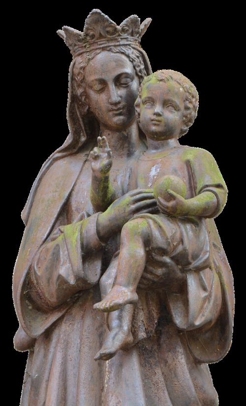 maria child statue