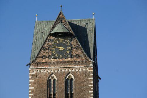 marienkirche wismar tower