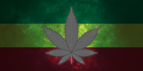 marijuana cannabis rasta flag
