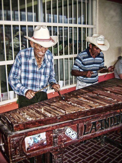 marimberos musicians peasants