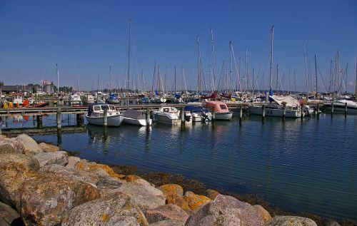 marina sailing ships water