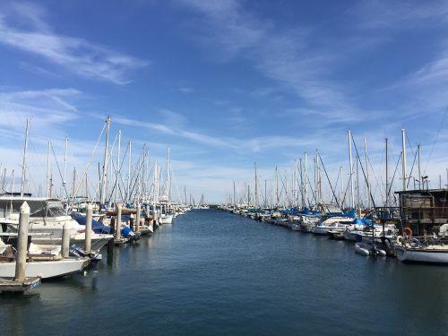 marina yachts sea