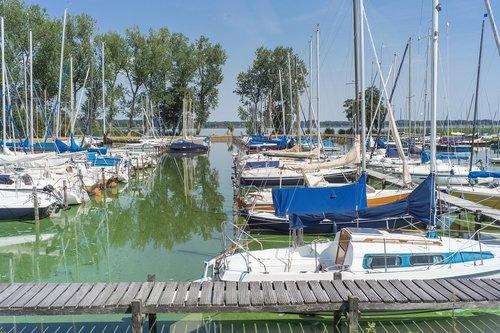 marina  sailing boat  sailing boats