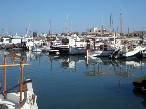 marina port sailing boats
