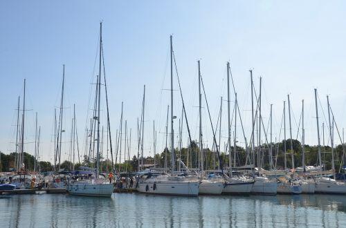 marina sailboat yacht