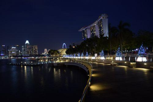 marina bay singapore waterfront