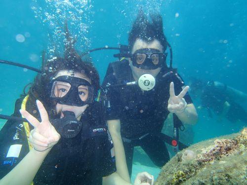 marine diving sea