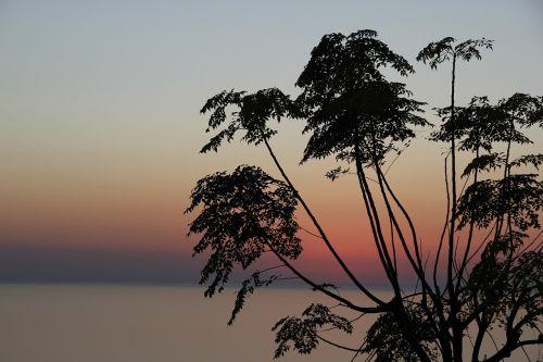 marine sky sunset