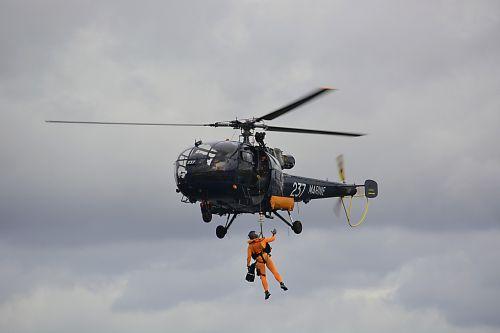 marine fire rescue hoisting