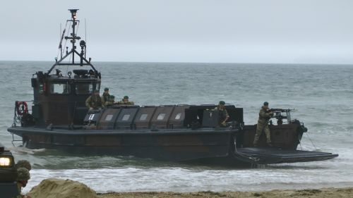 Marine Landing Craft Gunner