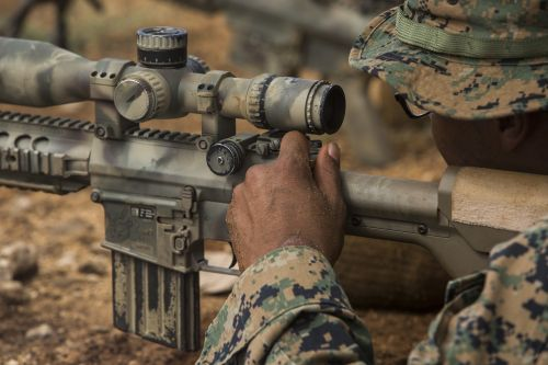 marines sniper rifle
