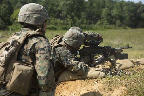 marines training exercise