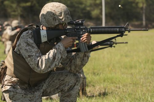 marines soldiers training