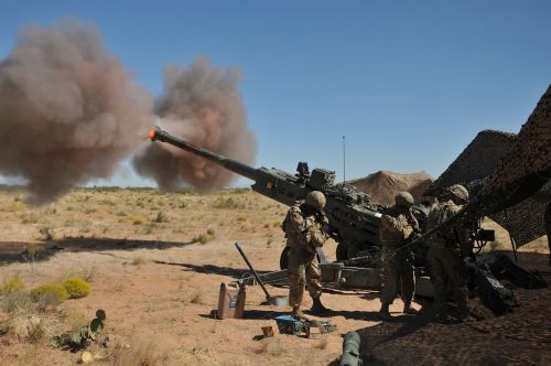 marines m777 howitzer artillery