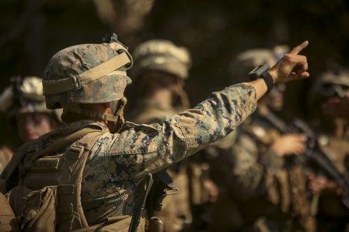 marines uniform camo