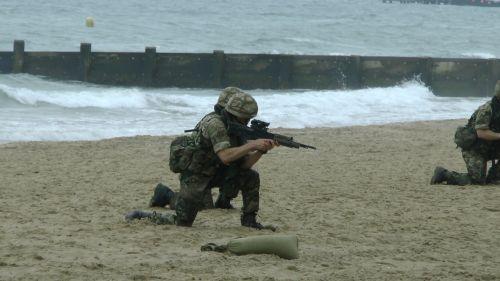 Marines Beach Advance