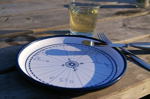 maritime  maritime dishes  compass
