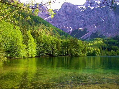 maritime alps bergsee landscape
