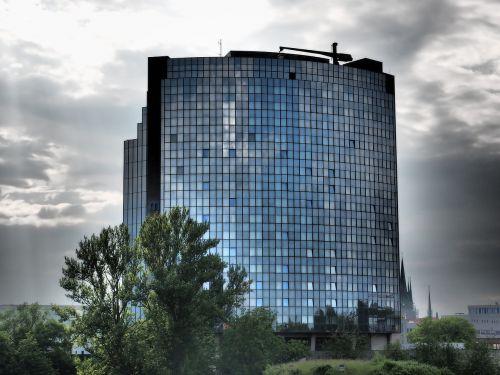 maritime hotel glass skyscraper
