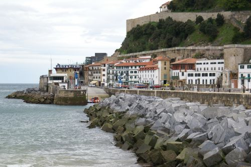 maritime landscape port san sebastian