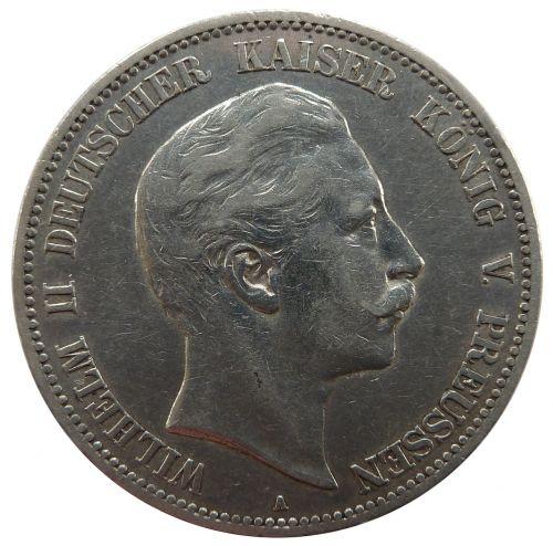 mark prussia wilhelm