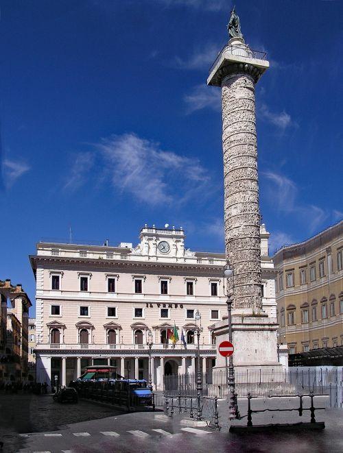 mark-aurel-pillar piazza colonna marcus pillar