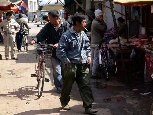 market china human