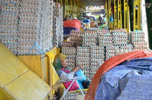 market asia borneo