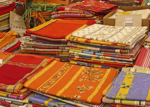 market farmers local market textile stand