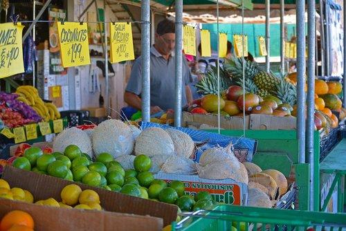 market  shop  sale