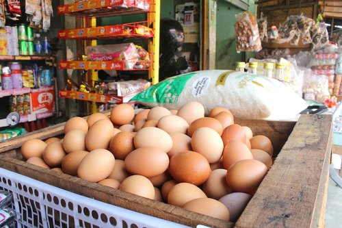 market  sell  egg