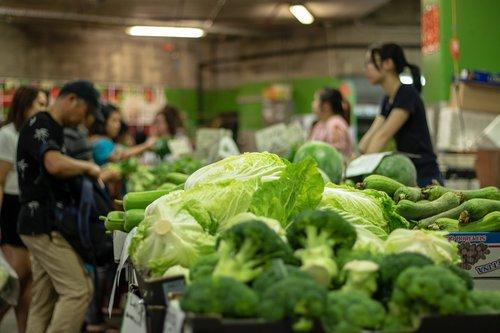 market  vegetables  food