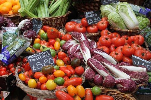 market  london  vegetables