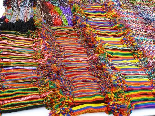 market colors ribbon