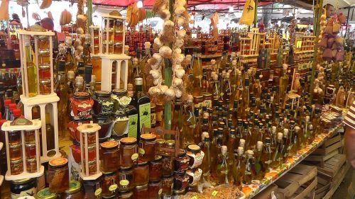 market trogir croatia
