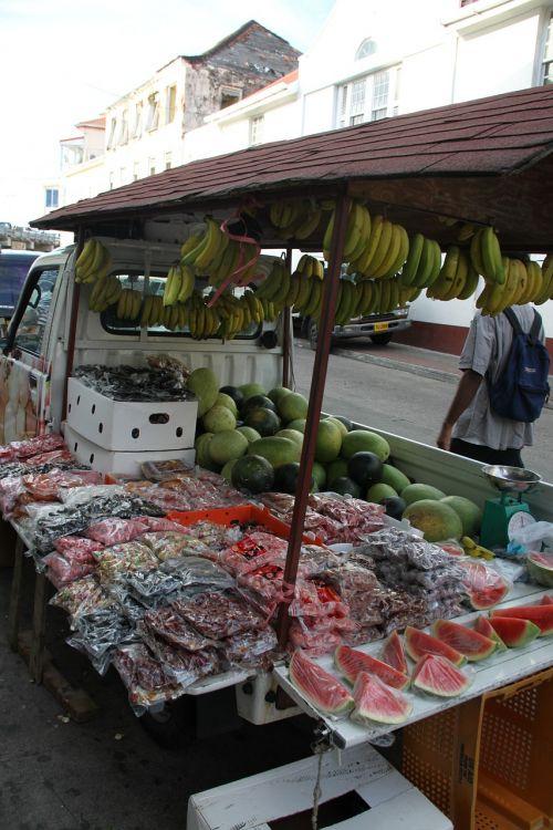 market fruit grenada