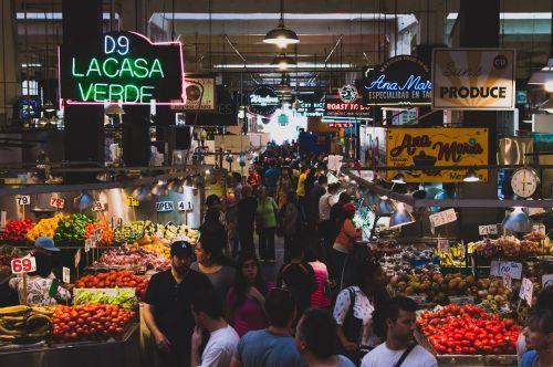 market food fruits