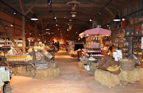 market hall farmer's market shopping