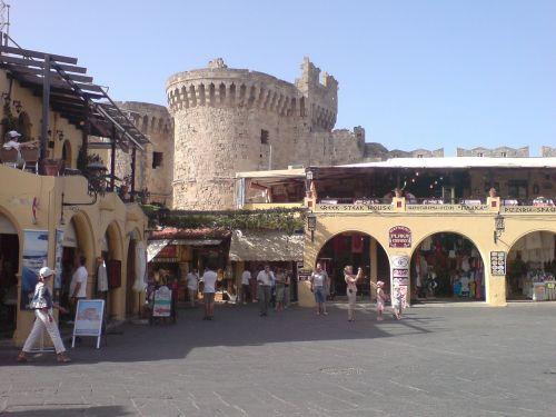 market square architecture rhodes