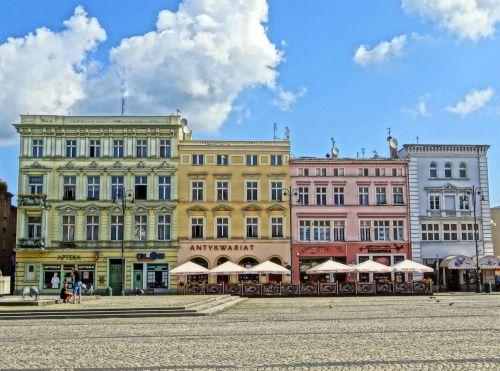 market square bydgoszcz poland