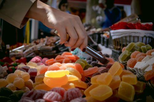 marketplace food sugary