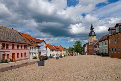 marketplace dornburg thuringia germany