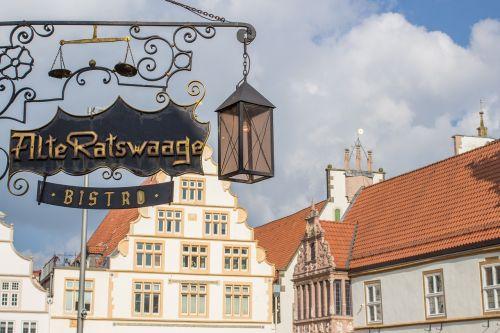 marketplace lemgo hanseatic city